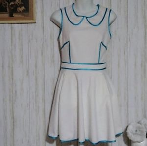 ASOS Skater Dress with contrast  Size 4